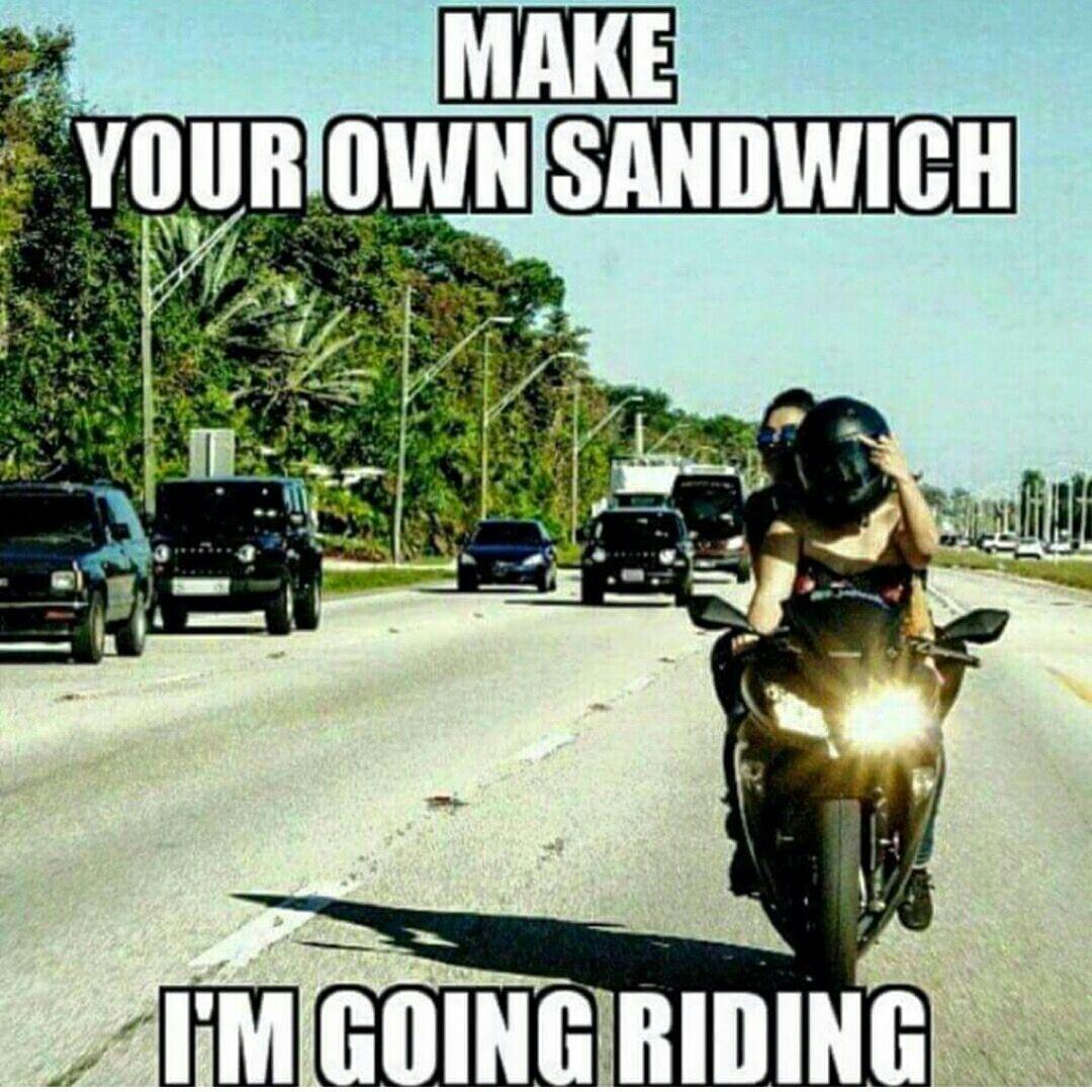 Pin By Gudmundur Adam Gigja On Bike Meme With Images Funny