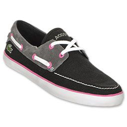 5946f622adc122 The Lacoste Karen Women s Casual Shoes are a perfect pair of versatile shoes  for spring and summer. Step into the boat shoes and feel the soft canvas  around ...