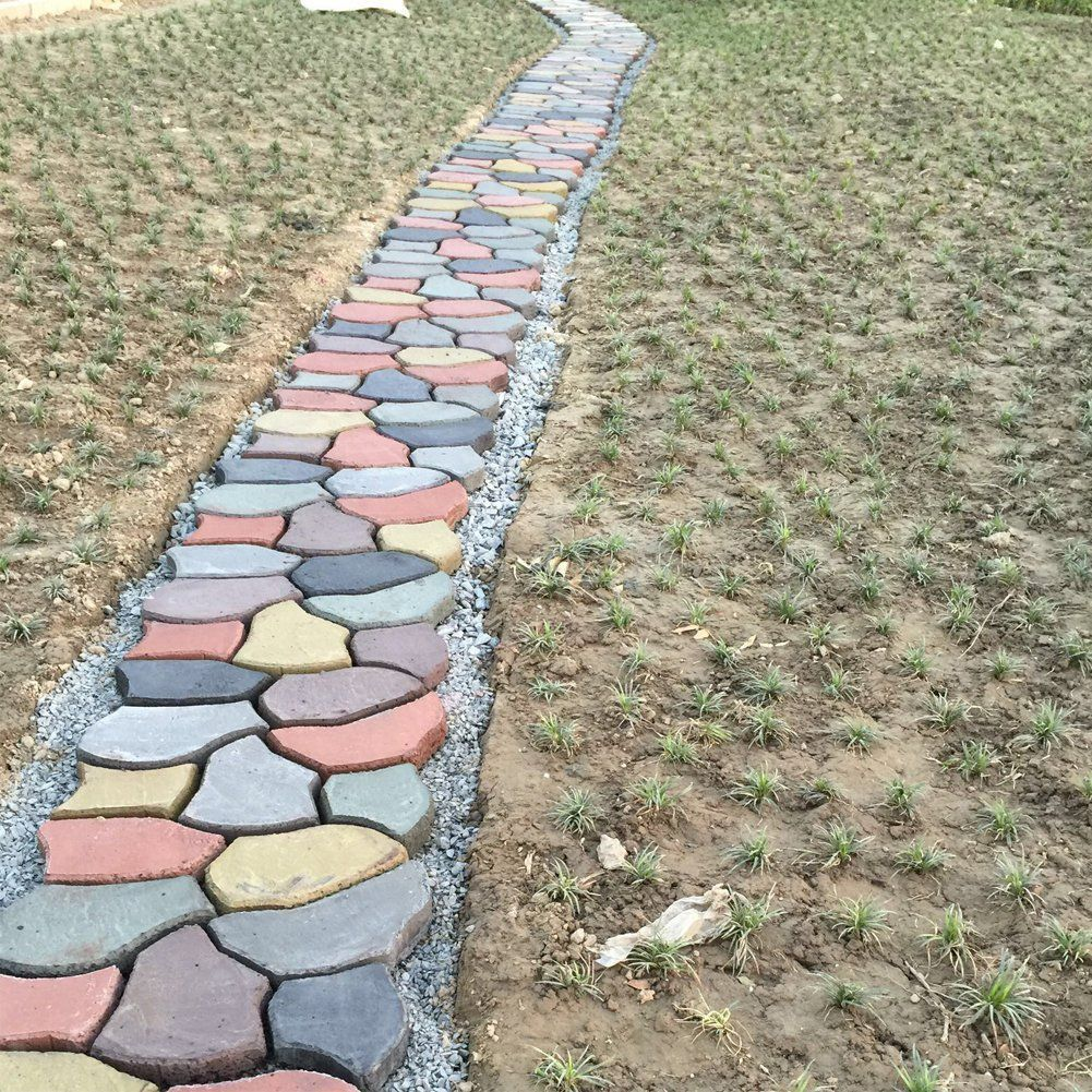 Path Pavement Mold Walk Maker, Hengmo DIY Personalized