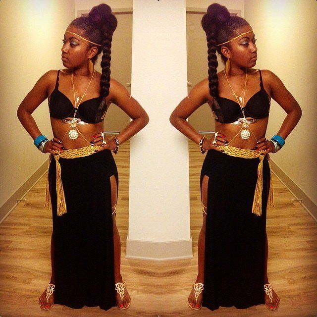Cleopatra is the perfect QUEEN to be this Halloween.