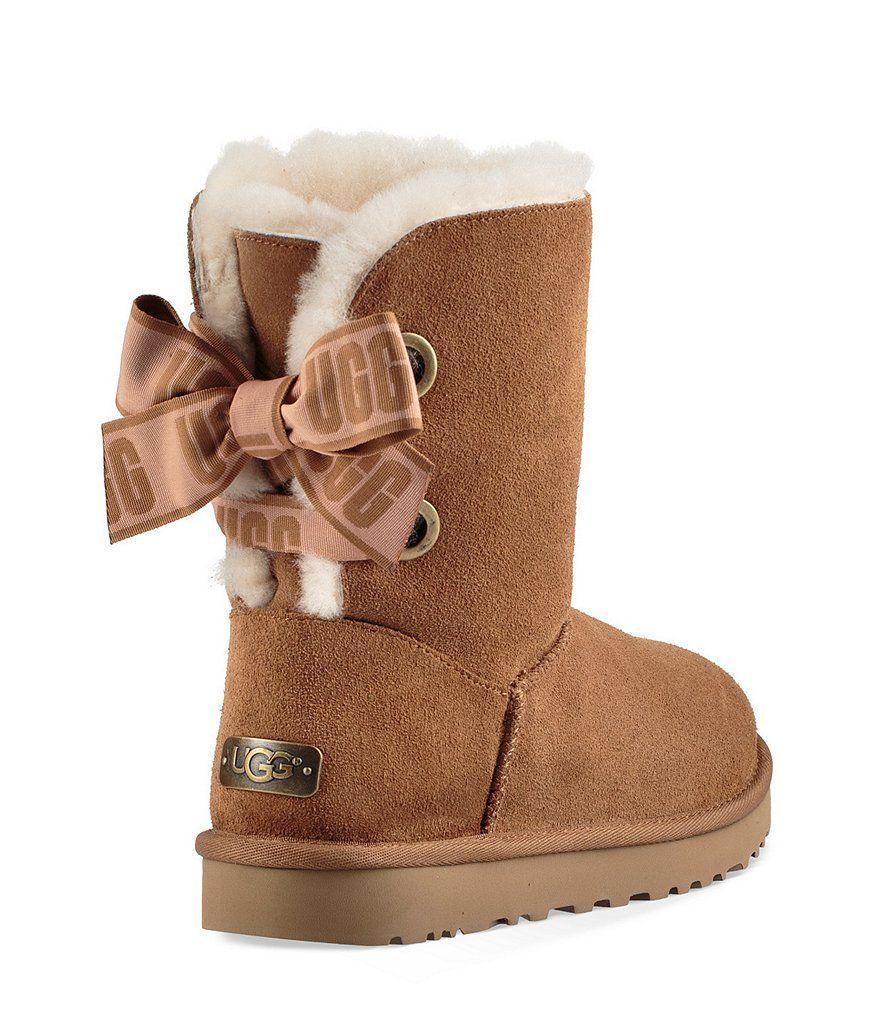 UGG® Custom Bailey Bow Short Boots