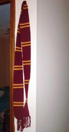 Hogwarts House scarf pattern | I'm A Potterhead ...