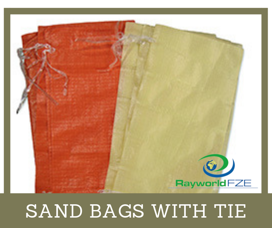 Sand Bags With Tie Are Exported By Us Across The Globe Read About This And Its Similar Product Here Http Rayworlddubai Com Sand Sack Bag Woven Bag Sand Bag
