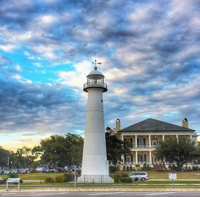 A Gorgeous View Of One Of The Biloxi Lighthouse On The Mississippi Gulf Coast Mscoastlife Biloxi Lighthouse Visit Mississippi Travel Bucket List Usa