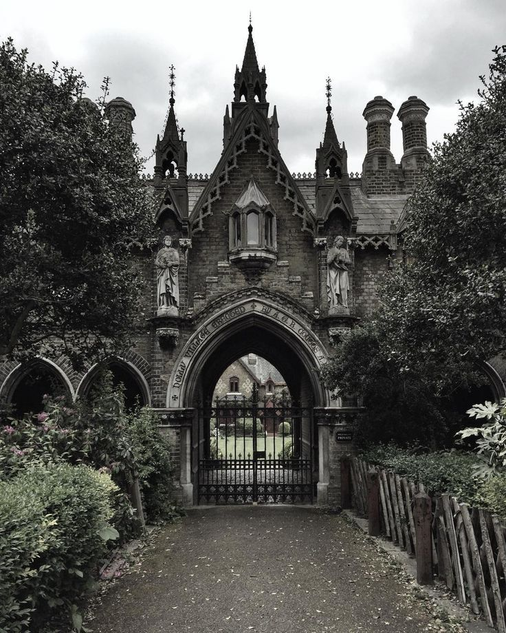The front of a dark manor, where the lord and lady... - #countryside #dark #Front #Lady #Lord #Manor #castles