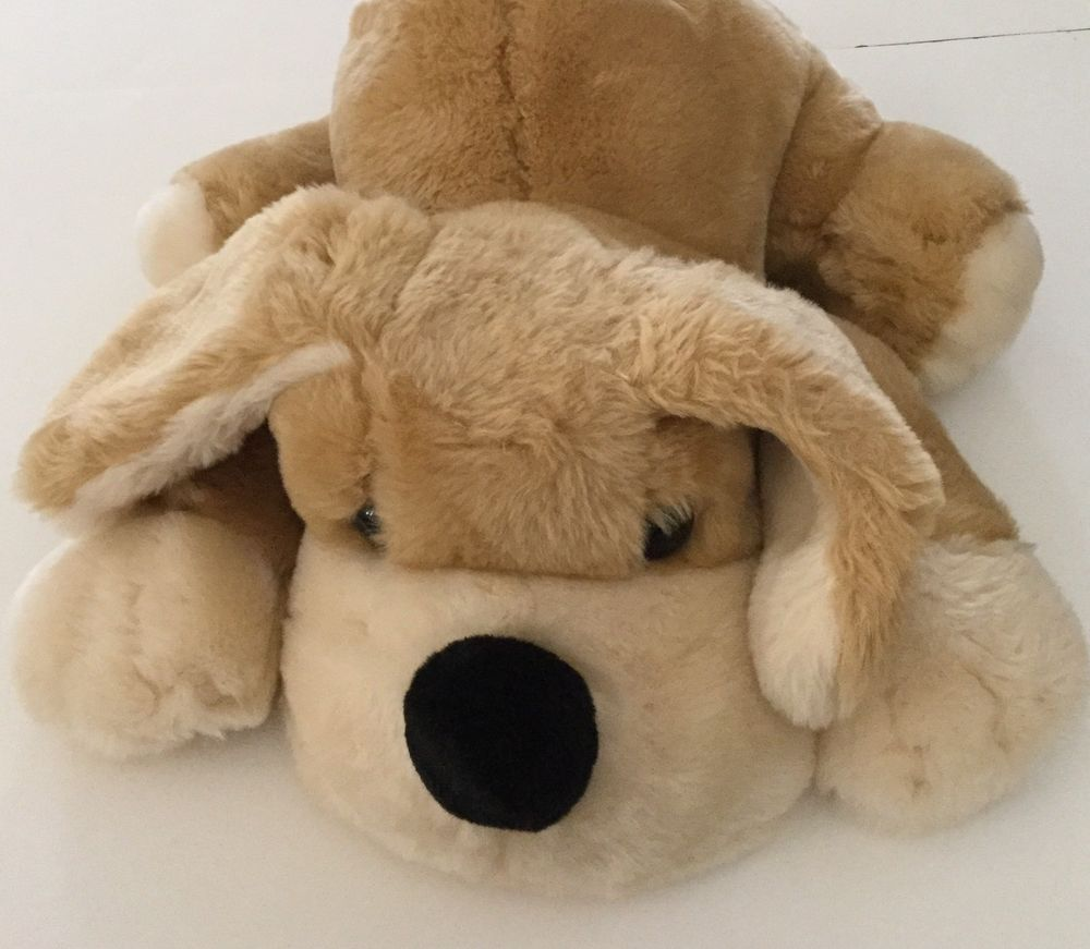 Fao Patrick The Pup Puppy Dog Plush 22in Tan Cream Large Big