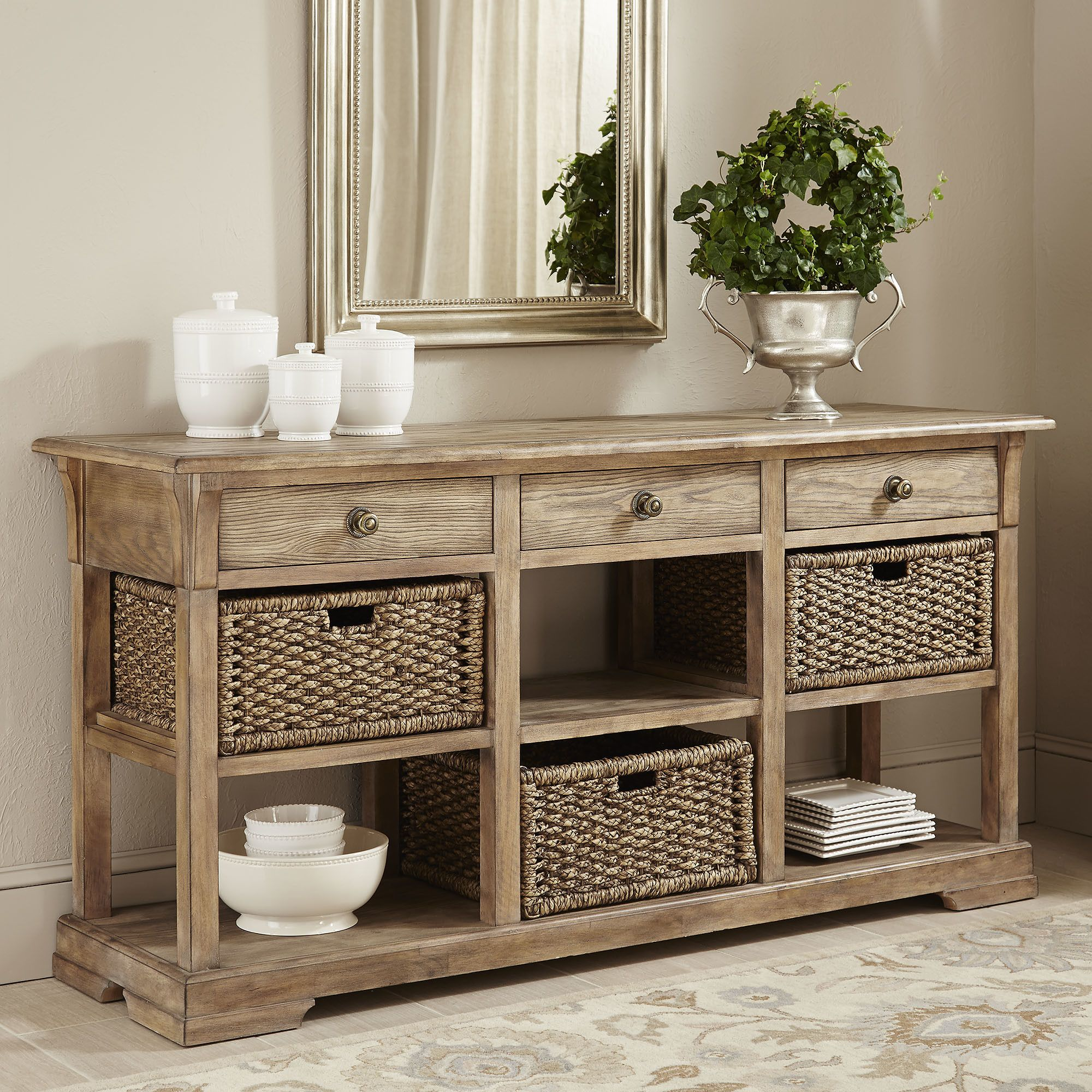Birch lane hutchinson console table with images