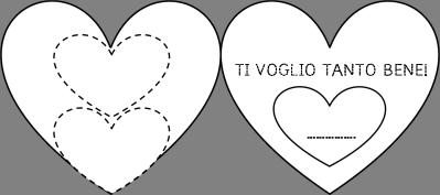 San Valentino Poesie Lavori Biglietti E Schede Da Completare