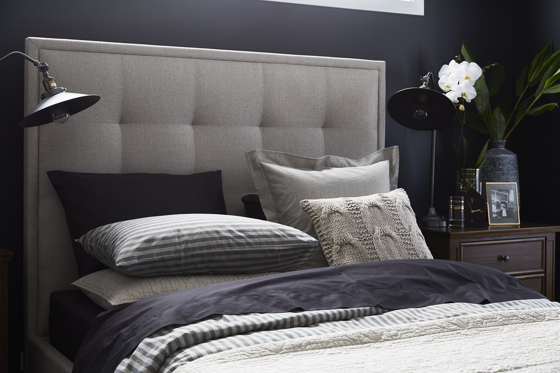 How to make your bedroom feel sophisticated Gray