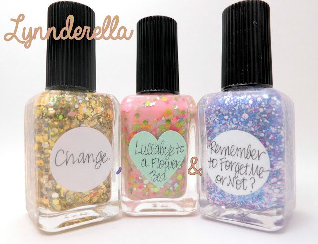 Lynnderella Change., Lullabye to a Flower Bed & Remember to Forget Me—or Not?