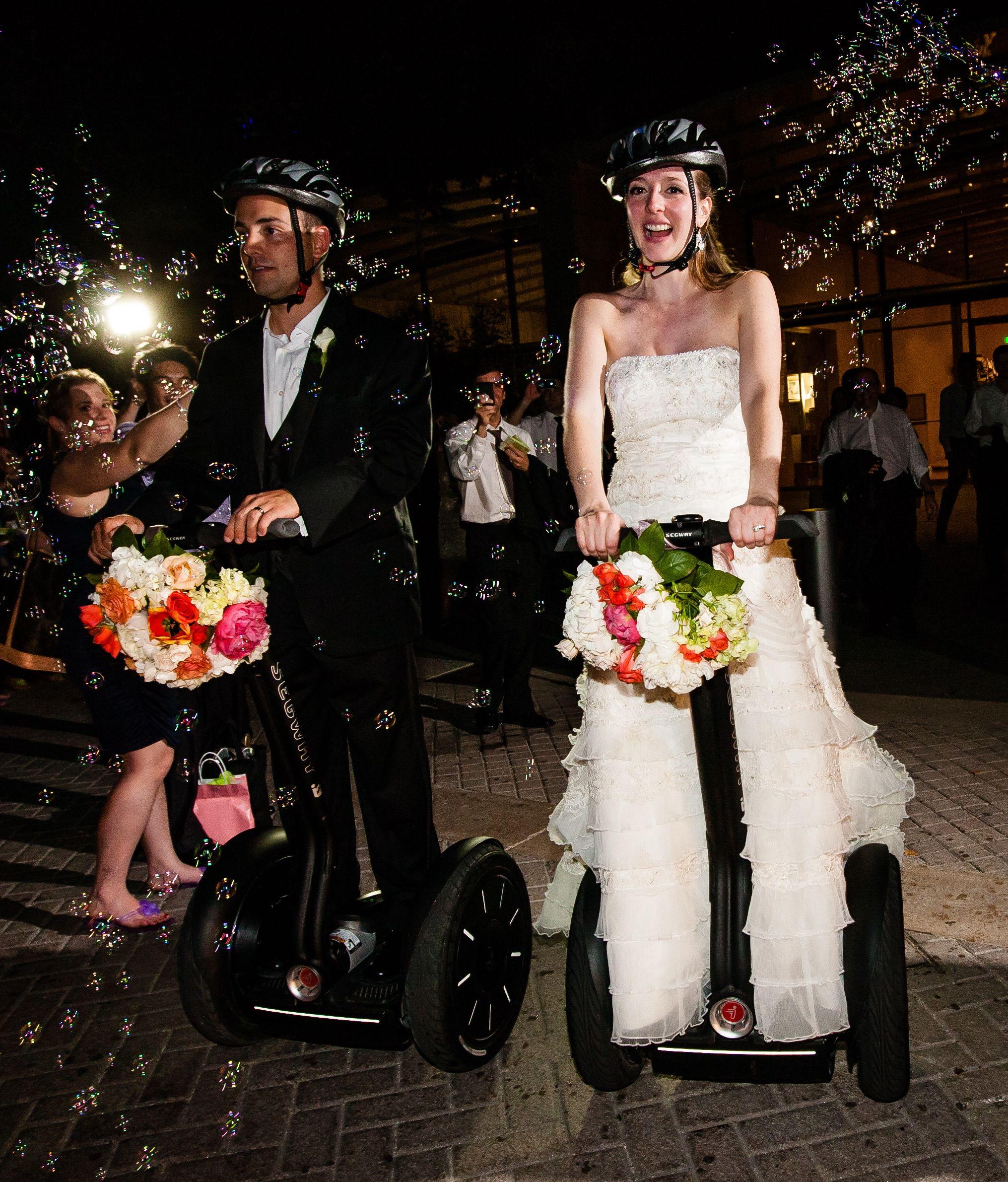 Segway wedding