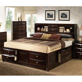 Edgeley Collection Queen Storage Bed Sears Canada