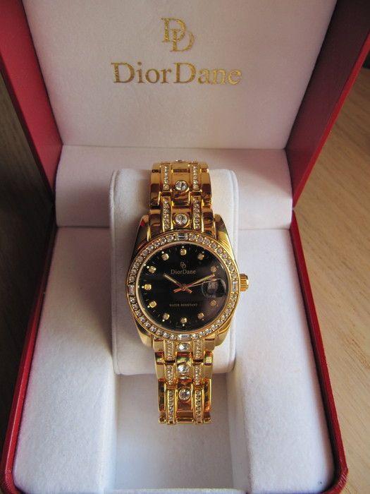d878600558131 Catawiki online auction house  Dior Dane - Damespolshorloge - Doublé