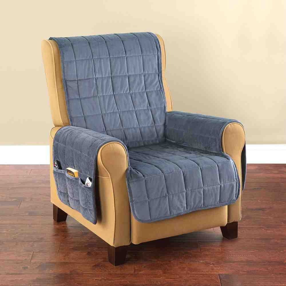 Quilted Lounge Chair Covers Recliner Covers Make An Old Chair Look New Again Home