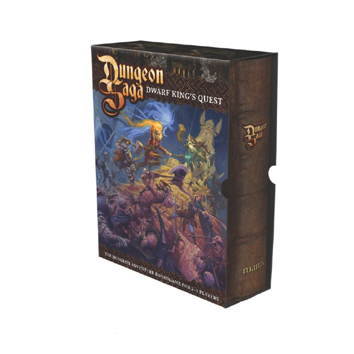 Dungeon Saga The Dwarf King's Quest by Mantic Games