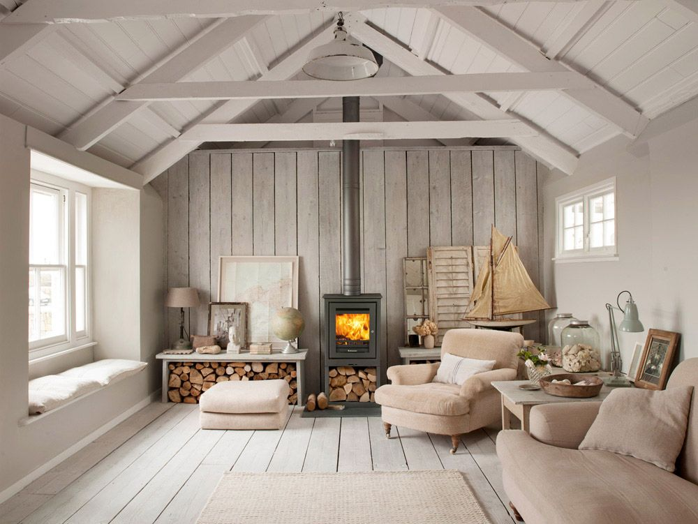 Best Wood Burning Fireplace Ideas Fireplace Tile Coastal 640 x 480