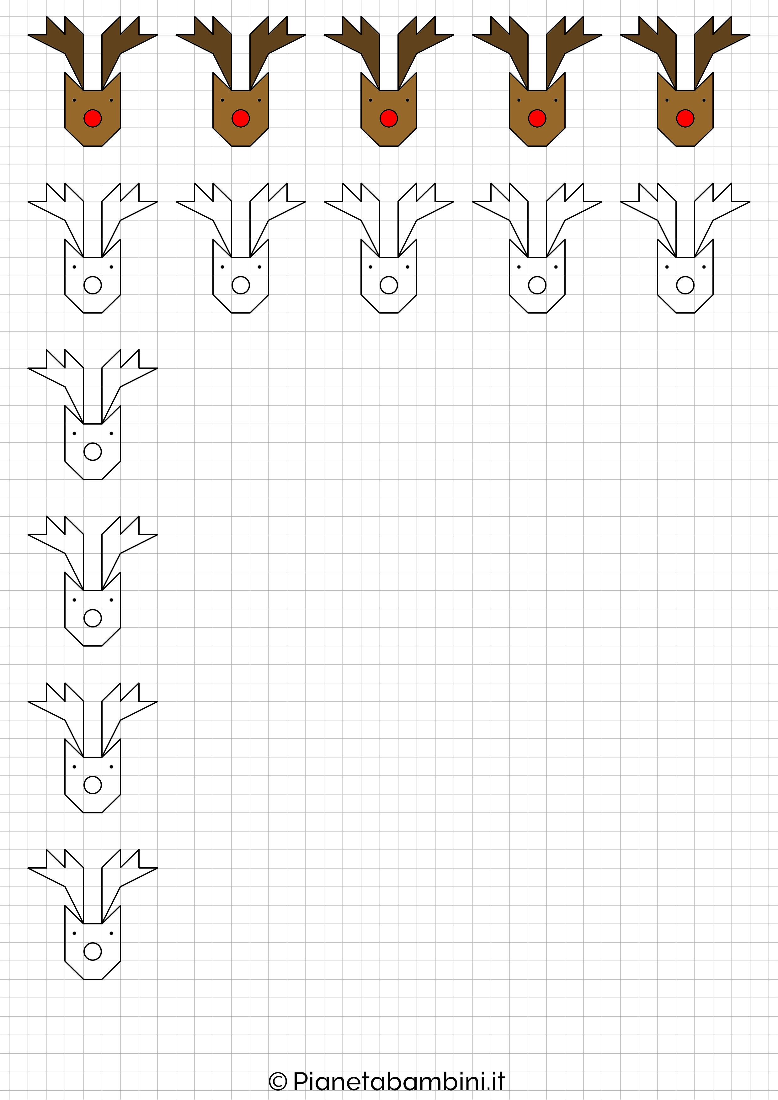 Disegni Di Natale A Quadretti.Cornicette Di Natale A Quadretti Da Disegnare E Colorare Pianetabambini It Le Idee Della Scuola Idee Per L Insegnamento Natale