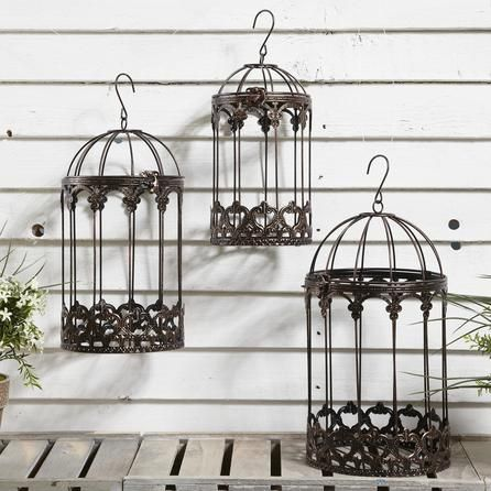 Birdcage Hanging Basket from Dunelm Mill | Home Accessories | Pinterest