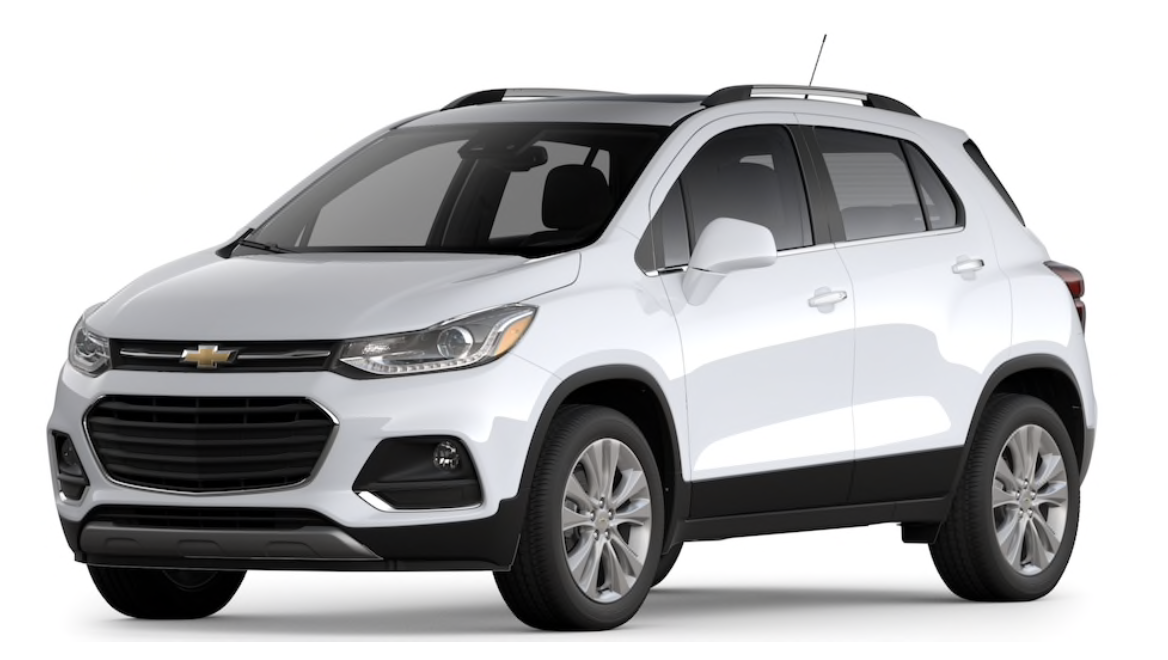 Chevy Trax Car In Summit White In 2020 Compact Suv Trax