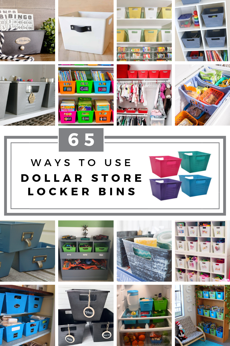 Are You Ready To Organize Your Entire House On A Budget Check Out These 65 Ways To Use D Dollar Tree Storage Dollar Tree Storage Bins Dollar Tree Organization