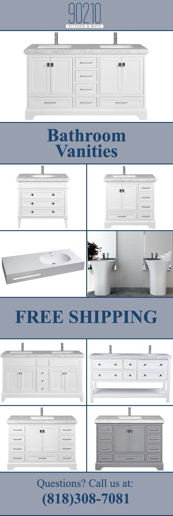 Bathroom Vanity Ideas for A Great Look At A Budget Prices Sizes