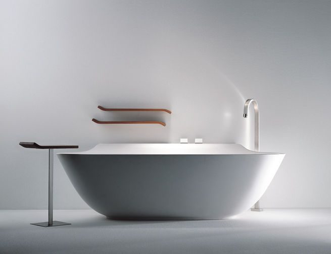 Scoop bathtub by Michael Schmidt for Falper.