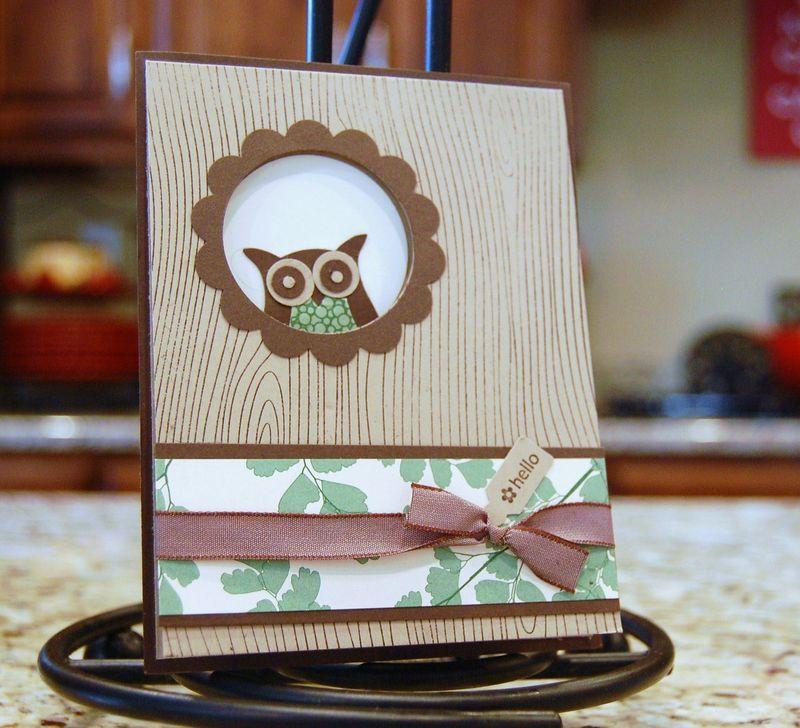 connie's blog  birthday cards diy punch cards owl card