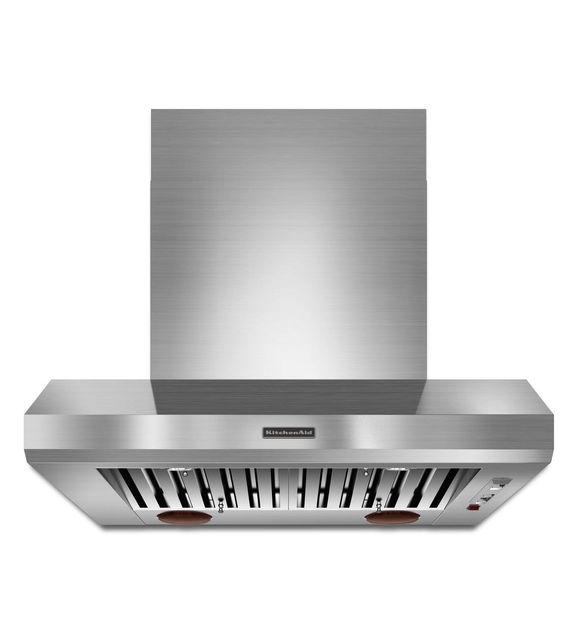 Commercial Kitchen Hood Design Beauteous Kitchenaid 36'' Wallmount 6001200 Cfm Canopy Hood Commercial Design Decoration