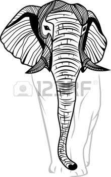african elephant and baobab tattoo - Google Search