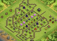 iran is in my heart th 9 clash of clans base layout