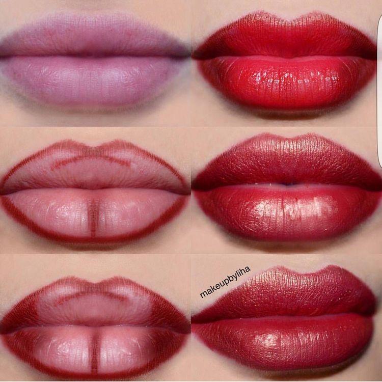 Lippen voller schminken: Lip-Contouring und Ombré-Lippen im Trend – Neu Besten