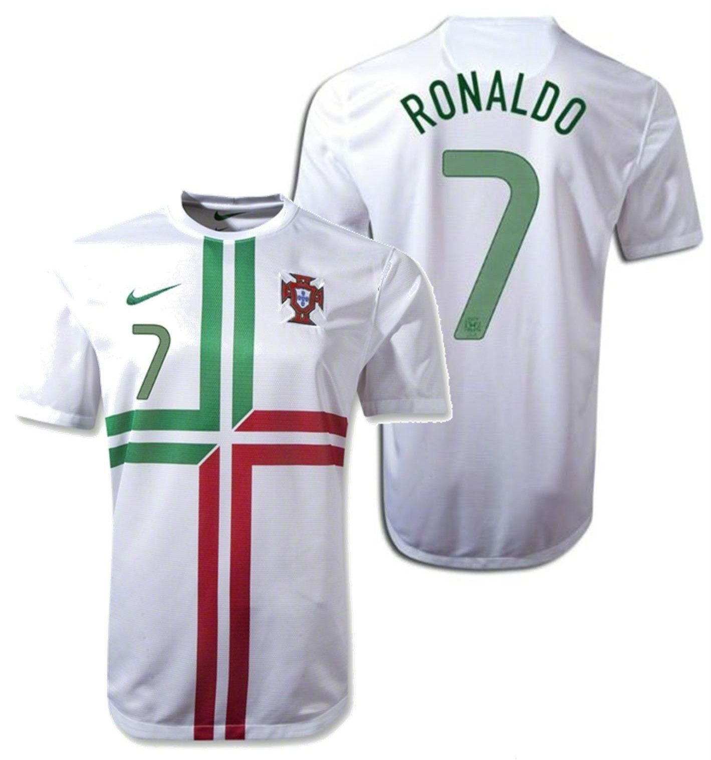 online store 50c08 497a8 NIKE PORTUGAL CRISTIANO RONALDO AWAY PLAYER ISSUE JERSEY ...