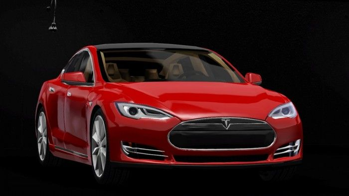 Tesla S Car By Craftsle Free Sims 3 Cars Custom Content Caboodle Best Sims3 Updates And Finds