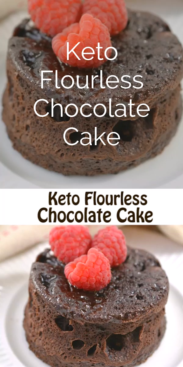 Keto Flourless Chocolate Mug Cake