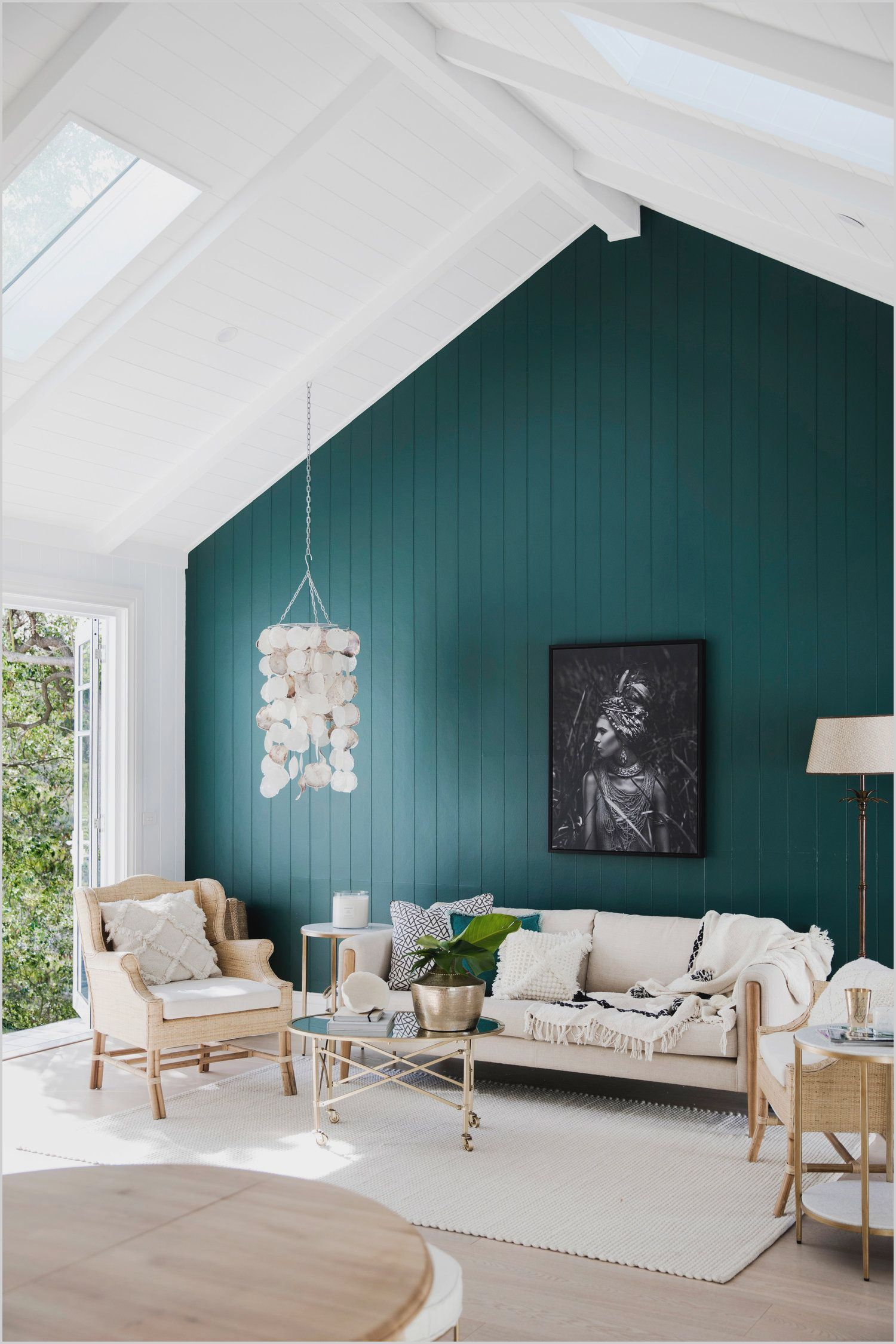 Light Turquoise Paint Living Room in 2020   Accent walls ...