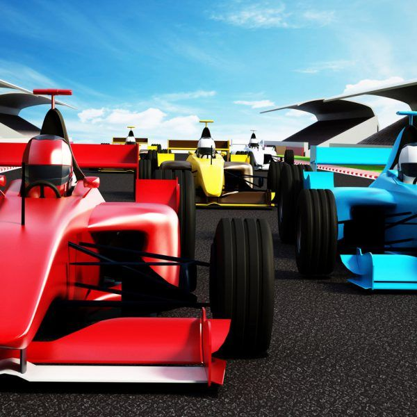 Motor Racing Cars Wallpaper Mural For Kids Murals For Kids Mural Wallpaper Racing