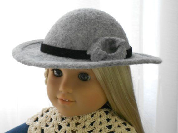 American Girl Doll Clothes - Doll Hats - School Girl - Rebecca - Samantha #dollhats