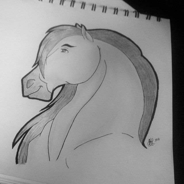 Spirit: Stallion of the Cimarron - Sketch 2014