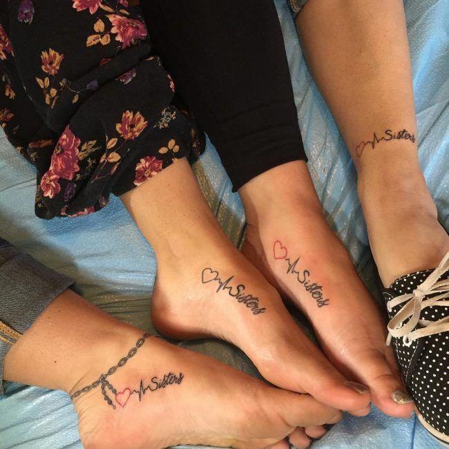 Plus De 95 Superbes Conceptions Et Significations De Tatouage De Soeur Idees Couleurs Et S En 2020 Tatouage Tatouage Soeurs Signification Tatouage