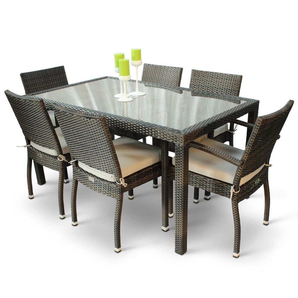 6 seater garden table and chairs sale