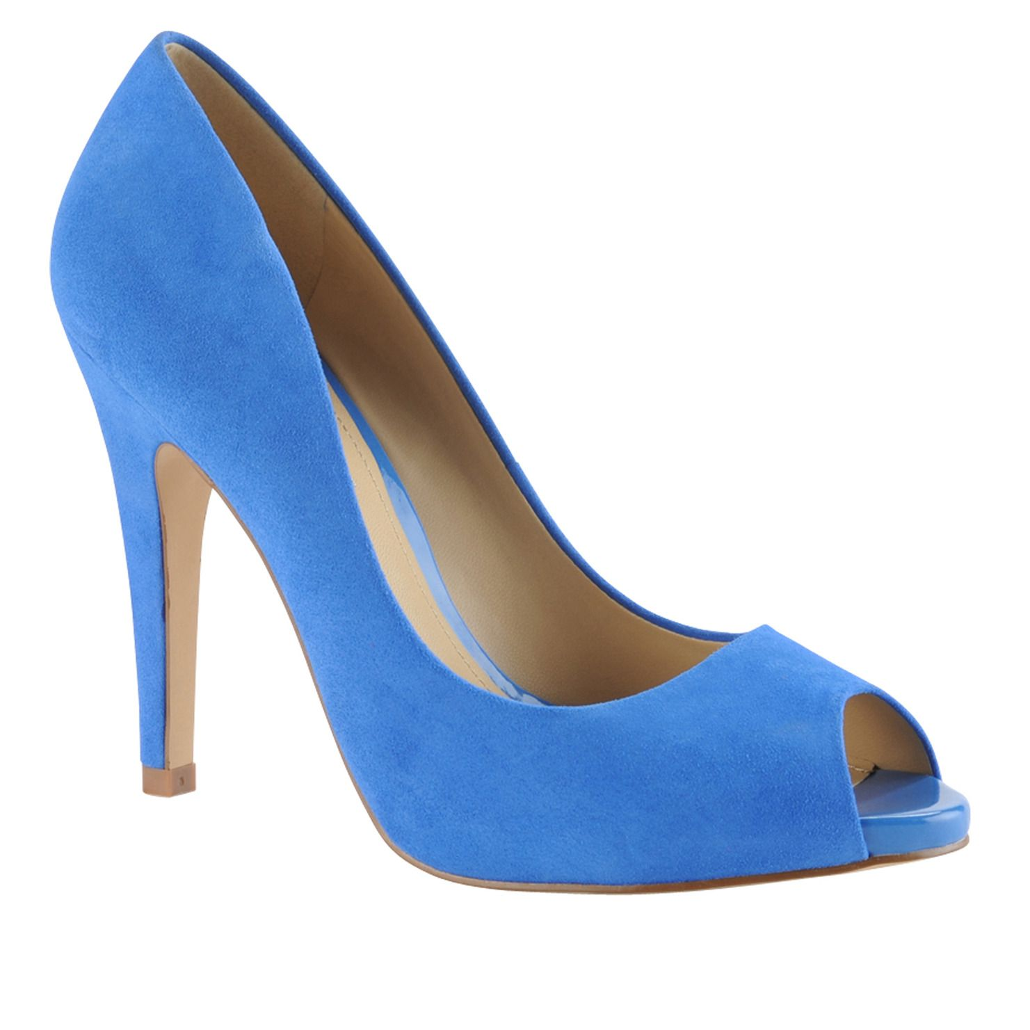 It's like wearing the sky on your feet!! BAYNE - women's peep-toe pumps at ALDO Shoes.