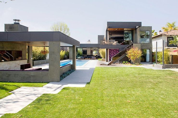 Superbe maison d\'architecte à Los Angeles | Architectes, De la ...