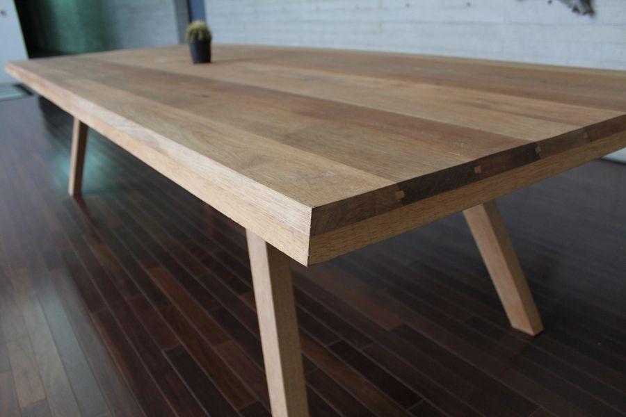 Mesas de madera con un estilo lleno de elegancia l neas - Mesas de arquitectura ...