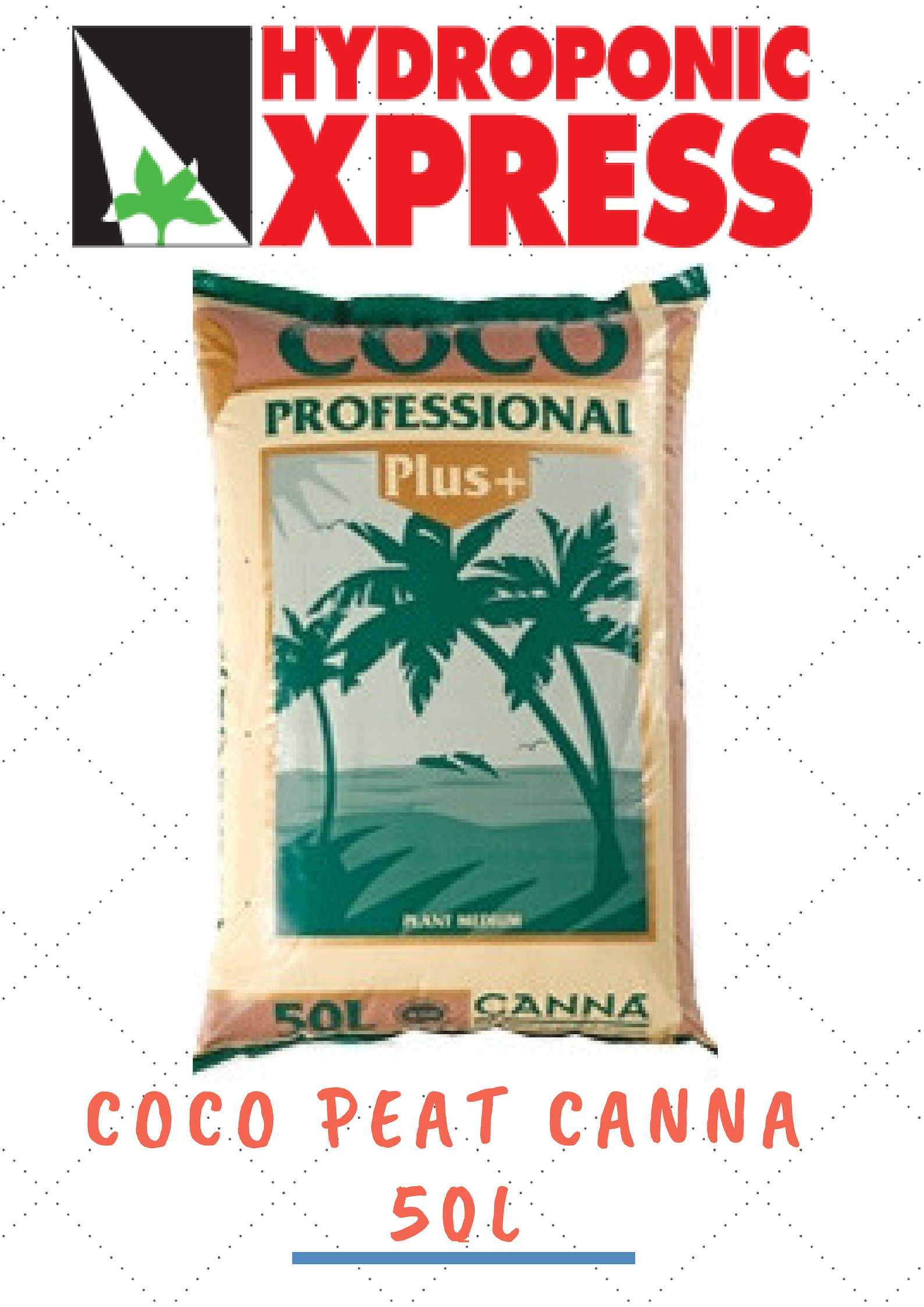 Coco Peat Canna is an organic product that has free from