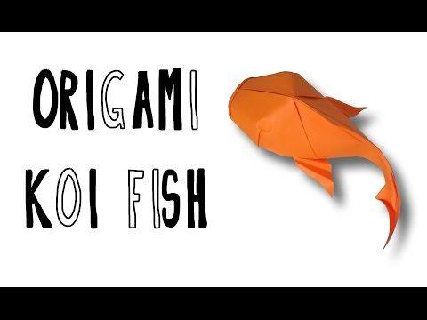 Origami Simple Koi (Riccardo Foschi) - YouTube