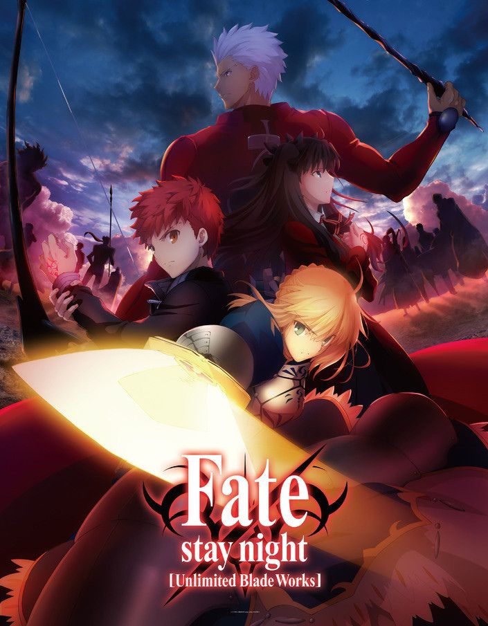 Fate Stay Night Unlimited Blade Works Anime Ger Sub