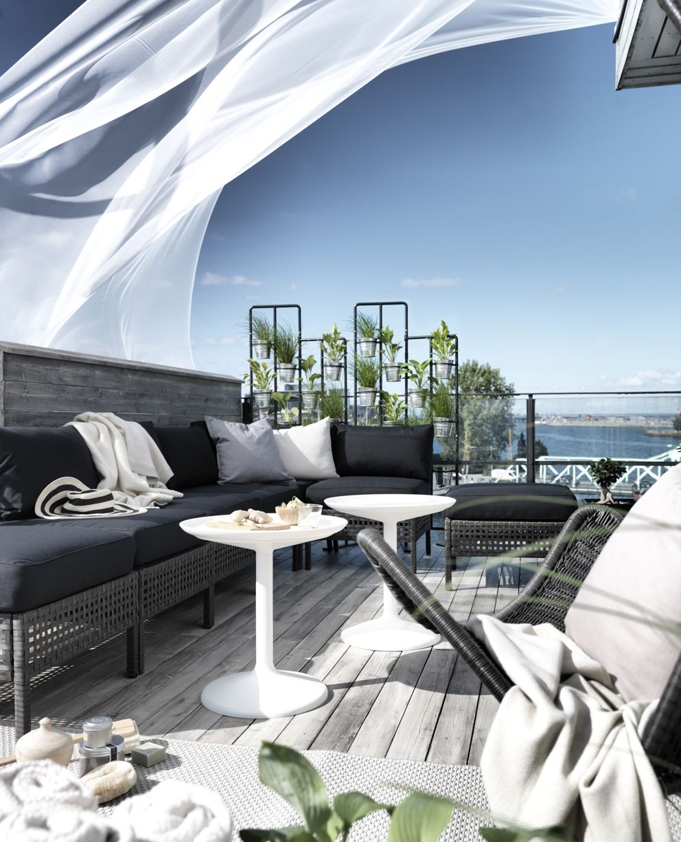 ikeas sommar lounge finrum balcony pinterest. Black Bedroom Furniture Sets. Home Design Ideas