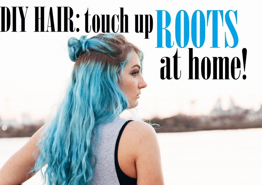 DIY Hair: How to Touch Up Roots at Home | Beauty | Colored ...
