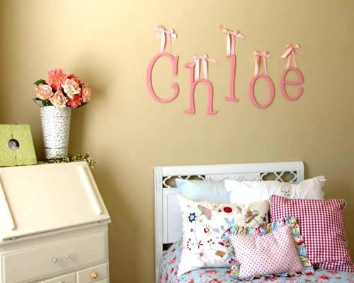 Cute Letters For Nursery Wall Ideas Images - Wall Art Design ...
