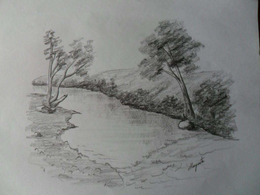 Dibujar Paisaje A Lapiz Dibujo Rapido Que Descansa Y Ejercita La Creatividad Paisaje A Lapiz Dibujos Rapidos Paisajes